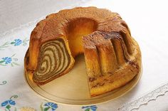 Slovenian desert - Potica. Potica (paw tee' tzah) is a traditional Slovenian holiday cake.