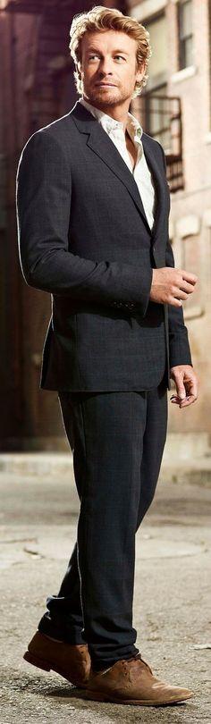 Simon Baker: The Mentalist (TV series)- as Patrick Jane
