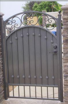 59 best wrought iron gate designs images windows wrought iron rh pinterest com