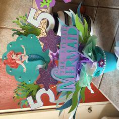 Little Mermaid Centerpiece Más