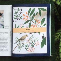 Today in the latest issue of @flow_magazine, English edition!  Six prints to brighten up your day. #flowmagazine #artprint #illustration #illustrator #natureprint #botanical #lottedirks