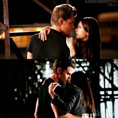 """A little Stelena! <span class=""""emoji emoji1f496""""></span> Dear TVD, Thank you for giving me unrealistic ideas about boys and romance! Sincerely, The ..."""