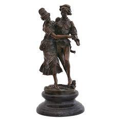 Volkstümlicher Paartanz Mann Frau Bronze Skulptur Mittelalter Figur Volkstanz - Kaufen bei Luxuspur.ug (haftungsbeschränkt)