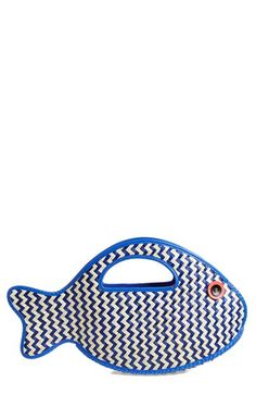 kate+spade+new+york+'splash+out+-+fish'+straw+tote+available+at+#Nordstrom