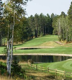 St. Germain GC - St Germain, WI - one of the most beautiful courses in all the Northwoods:)