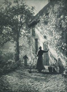 Sur la Port , Léonard Misonne 1906