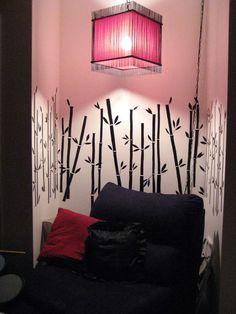 DIY wall decals! I'm doing this instead of paying a ridiculous amount to a custom decal company. w00t!