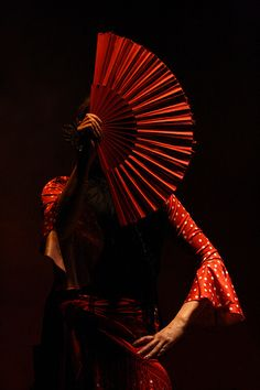 "Flamenco dancer ""Red Fan"" by Omalix Foto Portrait, Art Asiatique, Lets Dance, Dance Art, Dali, Shades Of Red, My Favorite Color, Lady In Red, Andalusia"