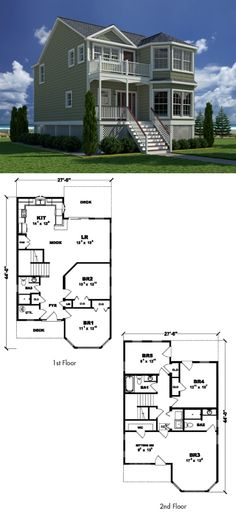 Two story style home with 5 bedrooms 3 baths part of excel custom modular homes new coastal living collection