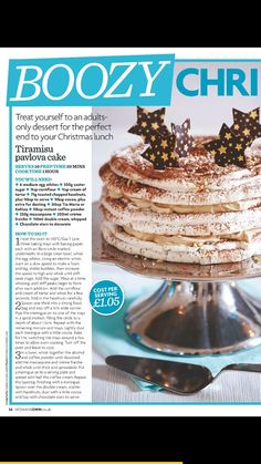 tiramisu pavlova cake