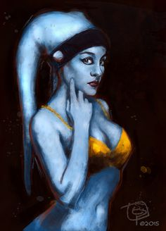 Twi'lek.(based in cosplay costume) E. Pitarch@2015. All right reserved.