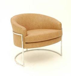 Milo Baughman Ostrich Chair