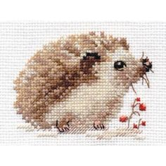 Thrilling Designing Your Own Cross Stitch Embroidery Patterns Ideas. Exhilarating Designing Your Own Cross Stitch Embroidery Patterns Ideas. Hedgehog Cross Stitch, Cute Cross Stitch, Cross Stitch Bird, Cross Stitch Animals, Counted Cross Stitch Kits, Cross Stitch Designs, Cross Stitch Embroidery, Cross Stitch Patterns, Hardanger Embroidery