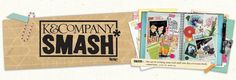 K Company SMASH -- great site for materials and ideas for making smash books
