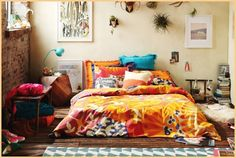 #living, #home, #interior, #bed, #bedroom, #decor
