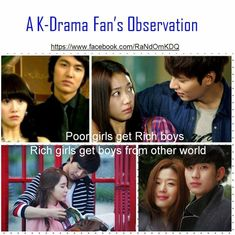 Kdrama observation: Poor girls get rich guys. Rich girls get guys from another world. Korean Drama Funny, Watch Korean Drama, Korean Drama Quotes, K Drama, Drama Fever, Korean Actors, Korean Dramas, My Love From Another Star, Kdrama Memes
