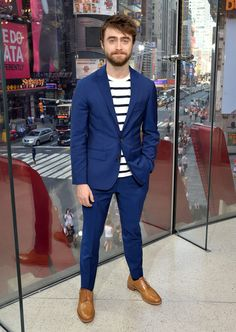 The Best Dressed Men Of The Week: Daniel Radcliffe at theTimes Square, NYC…