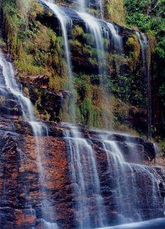 Almecegas Waterfall, Chapada dos Veadeiros National Park, Goias State, Brazil. Photo: Amarildo Correa