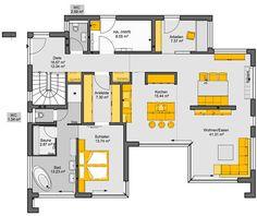 Grundriss bungalow l-form  bungalow l-form - Google-Suche | Haus Pläne | Pinterest | Form ...