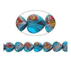 Promotional Events, Flower Designs, Glass Beads, Marble, Clock, Pattern, Blue, Watch, Patterns
