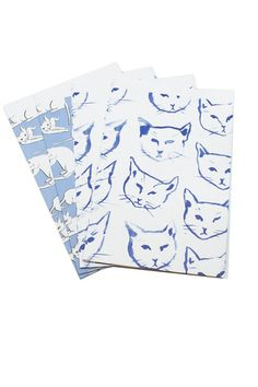 Purrrfect wrapping paper! Indigo Cats Gift Wrap <3