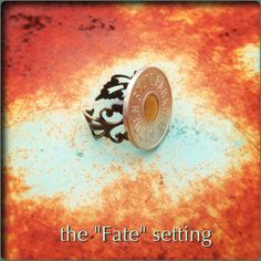 """Garden State Parkway Token Ring - New! METAL """"Fate"""" setting (New Jersey) :)"""