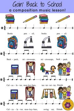 Elementary Music Lessons Plans New orff Lesson Goin Back to School orff Instruments Elementary Music Lessons, Music Lessons For Kids, Music Lesson Plans, Piano Lessons, Elementary Schools, Orff Activities, Music Games, Music Worksheets, Music Classroom