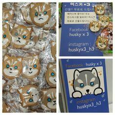 free cookies for you! huskyx3@ATC Seoul 2015 #husky #design #artist #art #figure #dessert #toyshow #cookie #teatime #vinyl #seoul