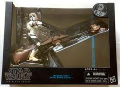 """Star Wars Black Series 6 Inch Action Figure 6"""" Speeder Bike Scout #Hasbro"""