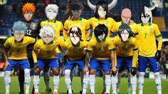 bleach soccer team... Where's Kenny?