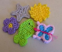 (4) Name: 'Crocheting : Back to Nature Pot Scrubbers