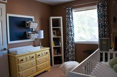 Project Nursery - Eclectic Guitar Nursery Room View