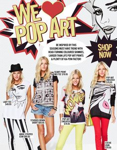 FASHION: Sportsgirl Pop Art Collection ‹ Melbourne Girl | Your daily dose of fashion, style & inspiration