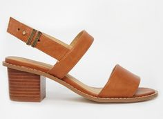 AsosHumorous Wide Fit Heeled Sandalsvia us.asos.com$63.00