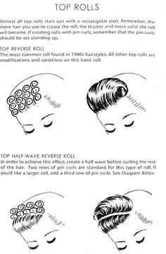 Top Rolls By Chaplinatra S Hairstyles S Fashion Wigs Rolls Make