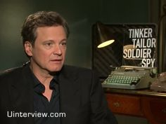 Colin Firth Video Interview On 'Tinker Tailor Sold...