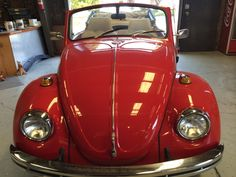 1969 VW Beetle Classic Convertible in for some repairs