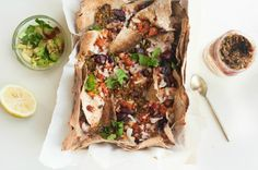 Mediterranean Lavash Nachos- for a new spin on your ordinary snacks!