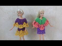 poncho para Barbie