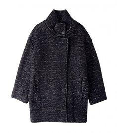 IRO Lanila Tweed Jacket - vertical welt pockets