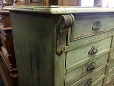 Design industriel : splendide meuble de métier époque Napoléon III...