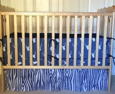 Hey, I found this really awesome Etsy listing at https://www.etsy.com/listing/209627277/crib-bumper-blue-deer-sihouette-with