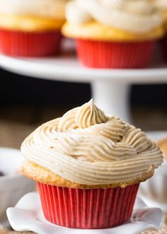 These Peanut Butter & Jelly Cupcakes turn a classic sandwich into an easy to make and very nostalgic cupcake. Perfect for all the pb & j lovers out there! Strawberry Jelly, Peanut Butter Frosting, Sandwiches, Vanilla, Cupcakes, Lovers, Classic, Easy, Desserts