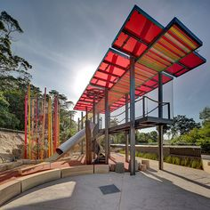 Play structure at the Lemur Forest Taronga Zoo, Sydney, Australia by Jane Irwin Landscape Architecture. Click image for full profile and visit the slowottawa.ca boards >> http://www.pinterest.com/slowottawa