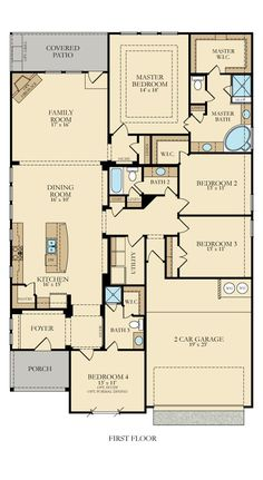 Best Modern Ranch House Floor Plans Design and Ideas Tags: ranch house, ranch house floor plans, ranch house plans, ranch house designs, ranch houses for sale Rectangle House Plans, Narrow House Plans, Garage House Plans, Ranch House Plans, New House Plans, Dream House Plans, House Floor Plans, Garage Entry, The Plan