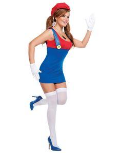 Super Mario Adult Women's Costume