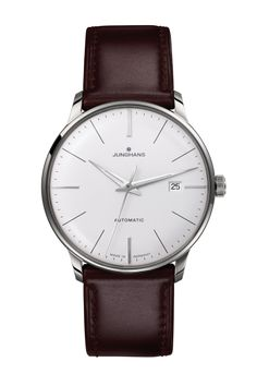 MEISTER CLASSIC  First built in the 1930s and improved by further refinements into the 1960s today, the elegant Meister watches bear eloquent witness to Junghans' expertise in mechanical watchmaking. Ref. Nr. 027/4310.00
