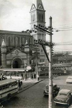 Igreja do largo de Pinheiros em 1963