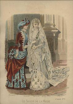 La Salon de la Mode 1883