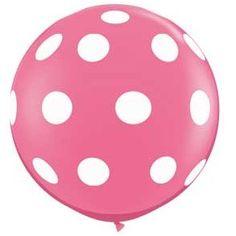 GIANT polka dot balloon....3'